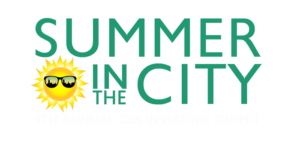 Summer in the City main logo dark